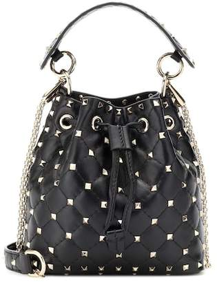 Valentino Rockstud Spike bucket bag