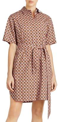 Burberry Addy Checked Shirtdress