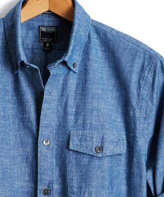 Todd Snyder Japanese Indigo Chambray Shirt