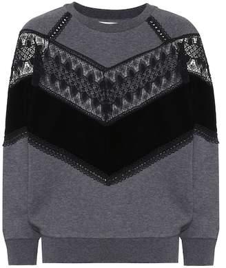 Stella McCartney Cotton-blend sweatshirt