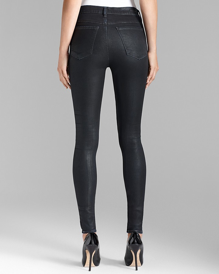 Citizens of Humanity Jeans - Black Skinny Moto in Runaway