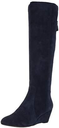 Anne Klein AK Sport Women's Azriel Suede Knee High Boot