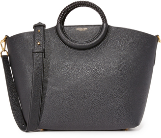 Michael Kors Collection Skorpios Market Bag $1,090 thestylecure.com