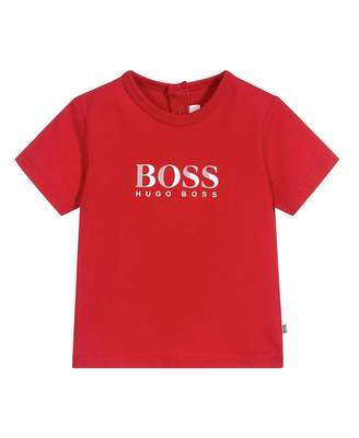 HUGO BOSS Kids Classic Logo Short Sleeved T-shirt