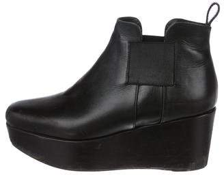 Robert Clergerie Ankle Wedge Boots