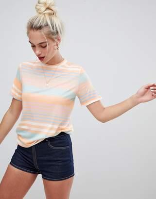 Daisy Street t-shirt in vintage stripe