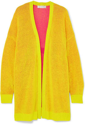 TRE by Natalie Ratabesi - Miki Oversized Cashmere Cardigan - Bright yellow