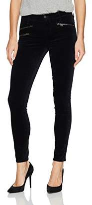 AG Adriano Goldschmied Women's Velvet Legging Ankle Moto