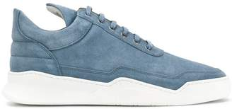 Filling Pieces quilted lace-up sneakers