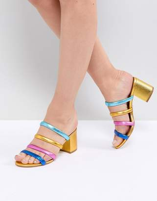 Kurt Geiger London Major Midi Block Heeled Sandal