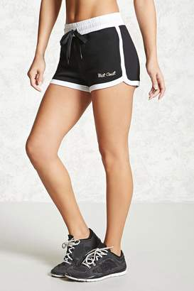 Forever 21 Active Embroidered Shorts