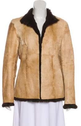 Gucci Reversible Fur Jacket brown Reversible Fur Jacket