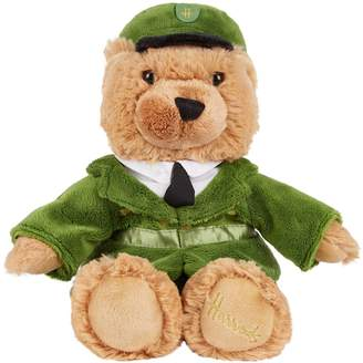 Harrods Green Man London Bear (27cm)