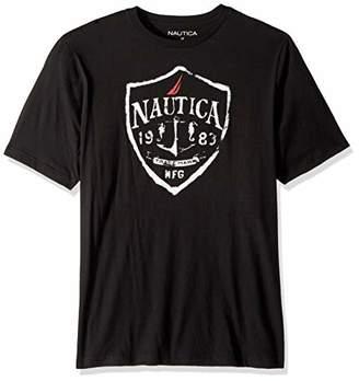 Nautica Men's Big Tall Short Sleeve Crewneck T-Shirt