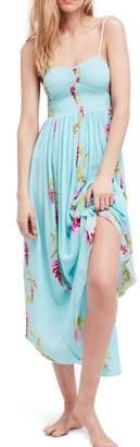 Free People Beau Print Slip-Dress