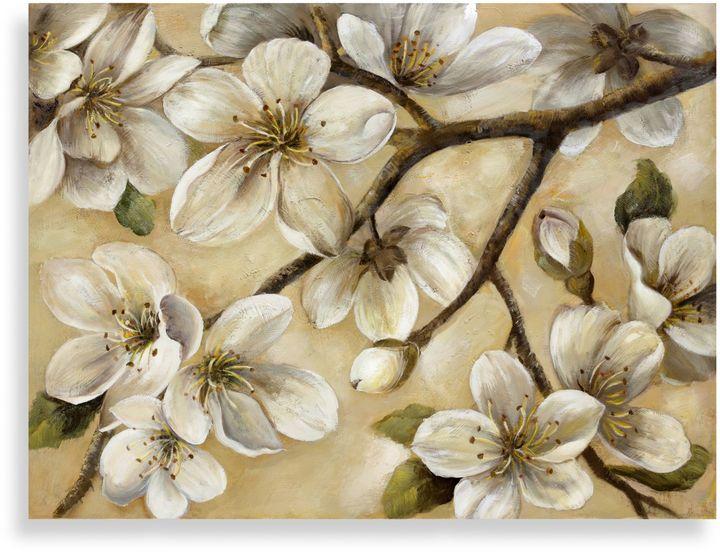 """Bed Bath & Beyond""""Paces"""" Floral Canvas Art"""
