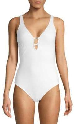 Gottex One-Piece Cutout Swimsuit
