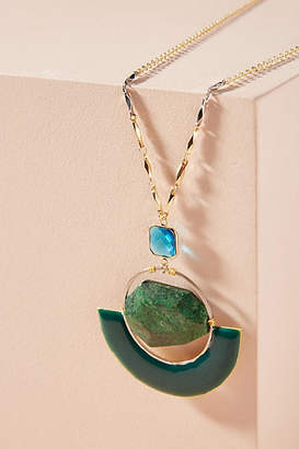 Anthropologie Stormy Seas Pendant Necklace