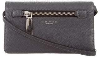 Marc Jacobs Leather Wallet On Strap