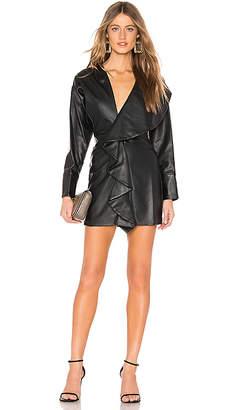 Tularosa Tamera Faux Leather Dress