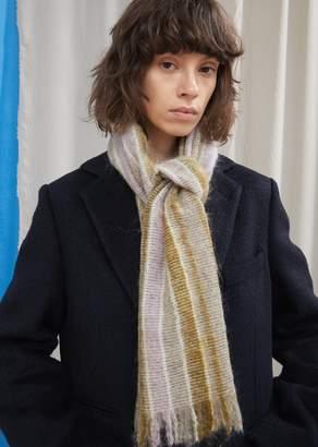 Acne Studios Stripe Wool-Blend Scarf