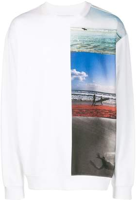 Calvin Klein Jeans surf print sweater