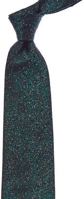 Ermenegildo Zegna Green Silk Tie