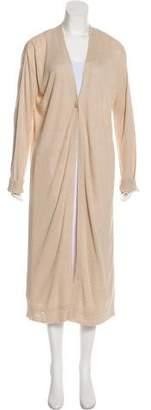 Theory Oversize Linen Cardigan