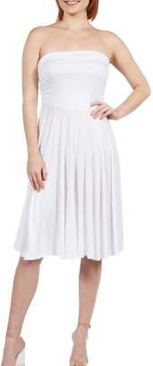 24/7 Comfort Apparel Irresistible Strapless Dress