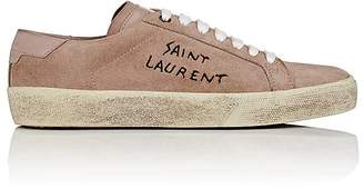 Saint Laurent Women's SL/06 Suede Sneakers
