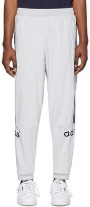 adidas Grey Velour Lounge Pants