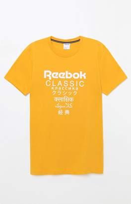 Reebok GP Extended Length Gold T-Shirt