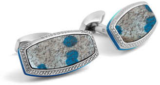 Tateossian Limited Edition Stones of the World Cuff Links