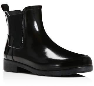 Hunter Women's Original Refined Chelsea Gloss Rain Booties