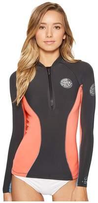 Rip Curl G Bomb Long Sleeve Full Zip Jacket Women's Swimwear