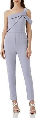 Reiss Mandi One-Shoulder Jumpsuit