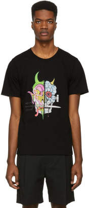 Wacko Maria Black Wolfs Head T-Shirt