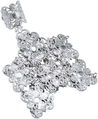 Lucy Ashton Jewellery Silver Filigree Hand Harness