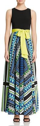 Eliza J Printed Maxi Dress $158 thestylecure.com