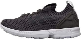 810217fe5 adidas Womens ZX Flux Trainers Utility Grey Utility Grey Footwear White