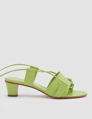Martiniano Brubu Wrap Sandal in Grass