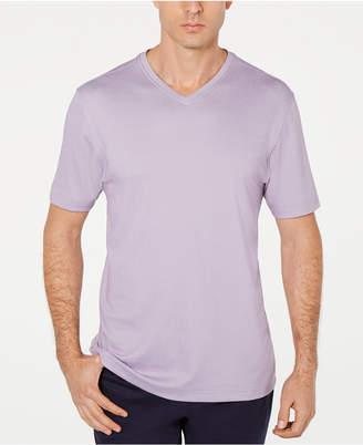 Tasso Elba Men's Supima Cotton Blend V-Neck Short-Sleeve T-Shirt