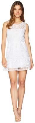 BB Dakota Sandra Lace Fit and Flare Dress Women's Dress