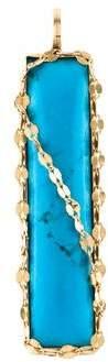 Lana 14K Turquoise Bliss Bar Pendant