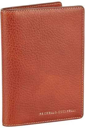 Brunello Cucinelli Leather Travel Wallet