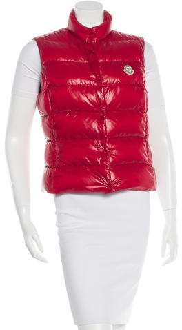 Moncler Moncler Collared Puffer Vest