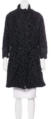 3.1 Phillip Lim Textured Knee-Length Coat