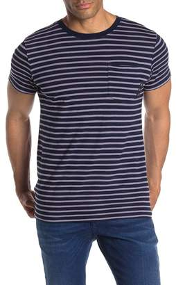 Scotch & Soda Striped Indigo T-Shirt