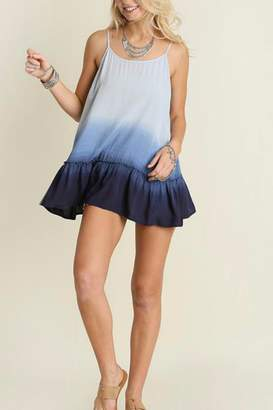 Umgee USA Sleeveless Ombre Tunic