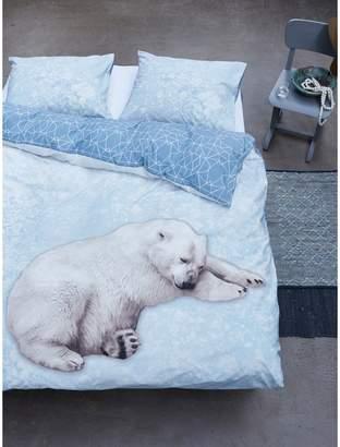 Covers & Co Polar Bear 220-Thread Count Cotton 3-Piece Duvet Cover Set
